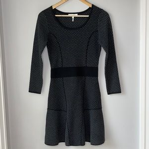 Sandro Dress French Textured Knit - Size 1